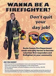 Volunteer Resume Recruitment Cal Fire Butte Unit