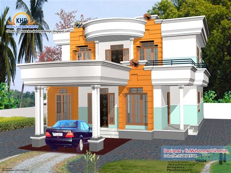 beautiful home elevation designs   kerala home
