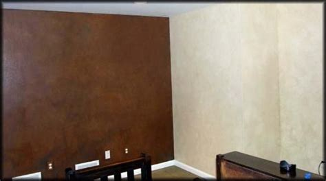 suede paint suede  leather walls faux finishing