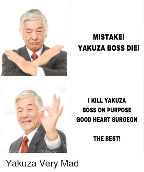 mistake yakuza boss die  kill yakuza boss  purpose