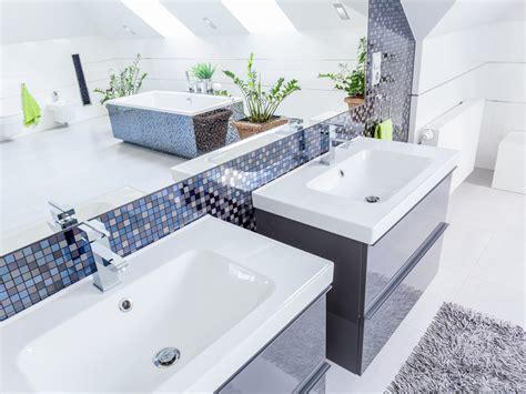Badezimmer Unterschrank Für 2 Waschbecken by Badezimmer Planen Gestalten Und Einrichten Bauen De