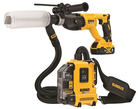 dewalt  brushless universal dust extractor kit dwh