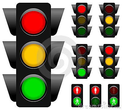 traffic light collection royalty  stock images image