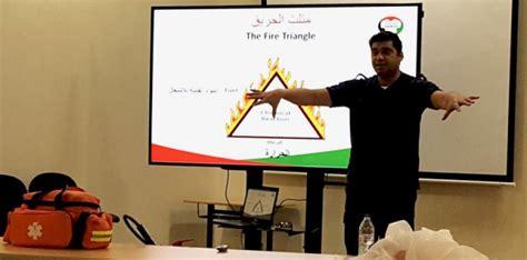 ورشة تدريبية حول الجاهزية المجتمعية للطوارئ