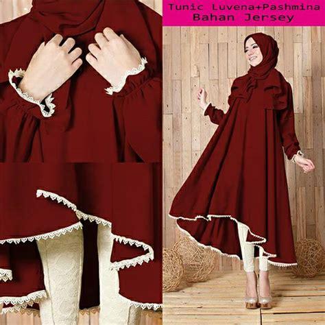 baju setelan hijab  modern terbaru cantik murah