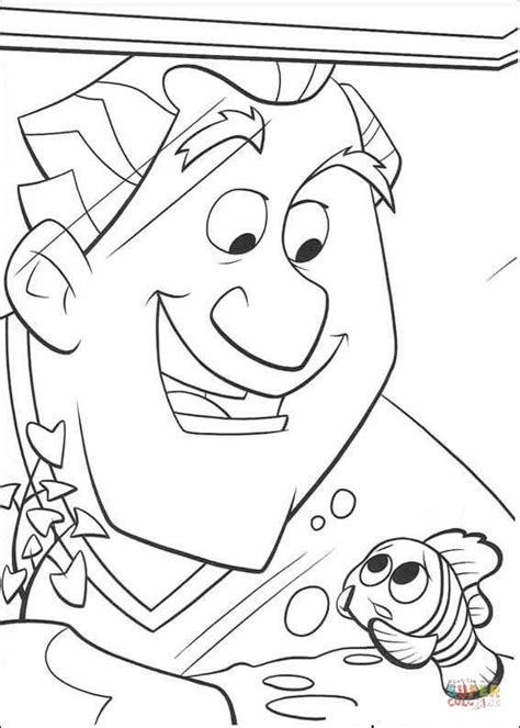 dr philip sherman  nemo coloring page  printable