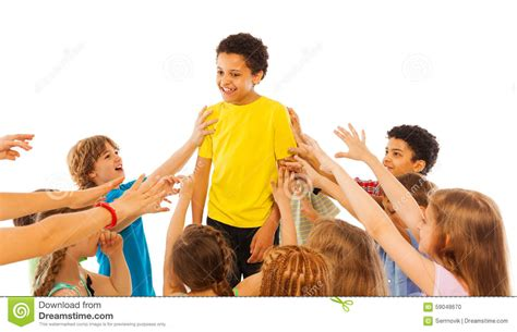 The Most Popular Kid In Class Stock Photo  Image 59048670