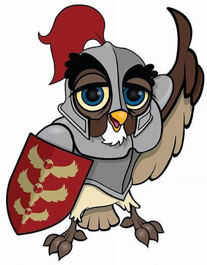 Owl Knight Clipart Teacher Teaching Busy Resources