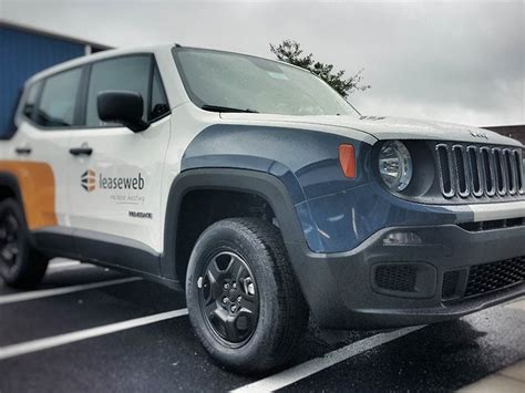 Lease Web Jeep Renegade Vehicle Wrap
