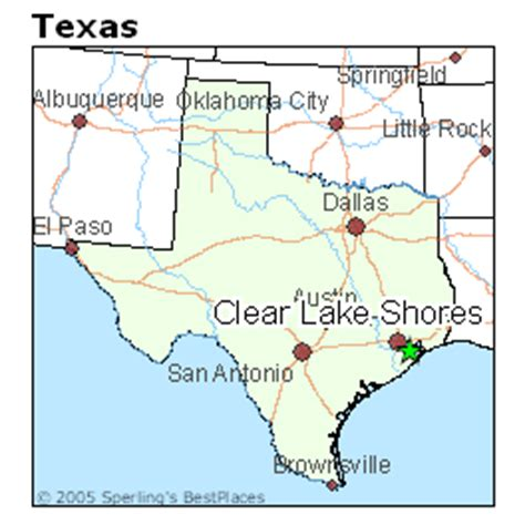 places    clear lake shores texas
