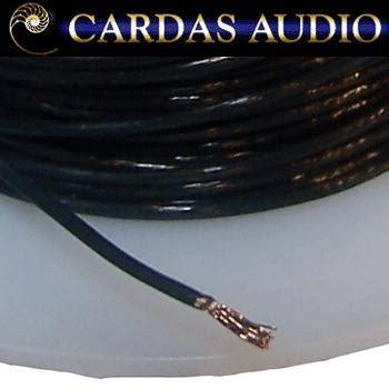 cardas 26 5 awg 0 38mm diameter multistrand copper litz wire hifi collective