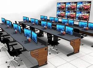 Summit Edge Control Room Console Furniture Solutions