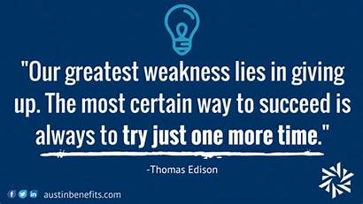 Positive Thinking Quotes Try Edison Way Thomas