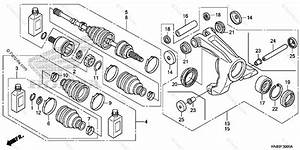 Honda Atv 2011 Oem Parts Diagram For Rear Knuckle