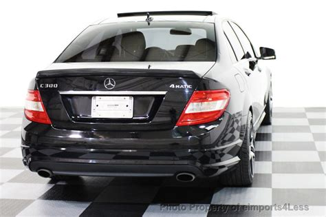 Request a dealer quote or view used cars at msn autos. 2010 Used Mercedes-Benz C-Class C300 4Matic Sport Package AWD NAVIGATION at eimports4Less ...