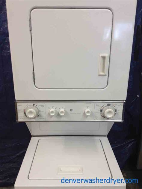 large images for ge spacemaker stack washer dryer 24 inch