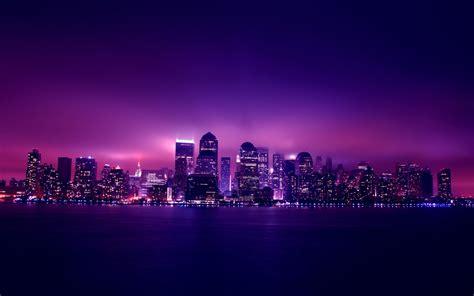 aesthetic city night lights  resolution