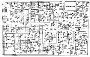 Compaq 524 Sch Service Manual Download  Schematics  Eeprom  Repair Info For Electronics Experts