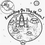 Coloring Printable Solar Moon Space Planet Earth Landing Drawing Printing Escape Goodnight Apollo Children Sun Stars Luna Rocket Nasa Exploration sketch template