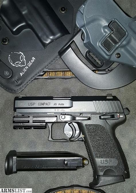 hk usp 45 laser light armslist for sale trade hk usp compact 45 v1