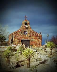 Rural New Mexico Church