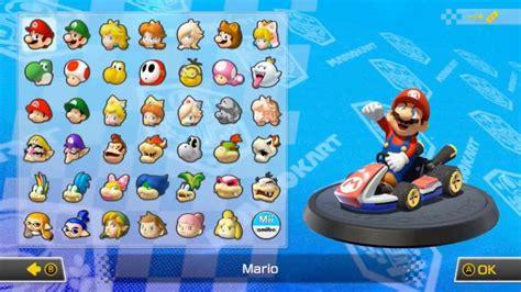 pick   racer  mario kart  deluxe