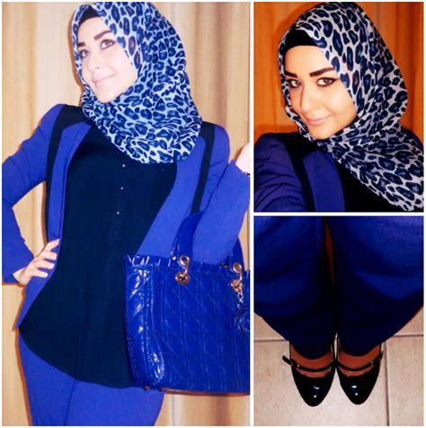 wear hijab   elegant style  work hijabiworld