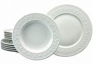 Service Porzellan Weiß : creatable tafelservice silvia 12tlg porzellan online kaufen otto ~ Markanthonyermac.com Haus und Dekorationen
