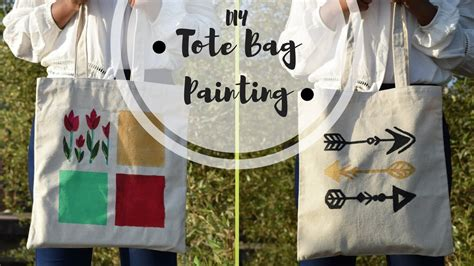Canvas Tote Bag Painting Tutorial