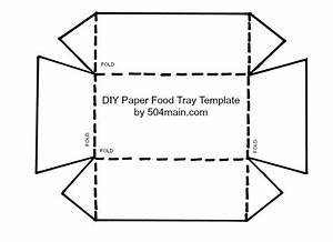504 main by holly lefevre diy paper food tray template With paper food tray template
