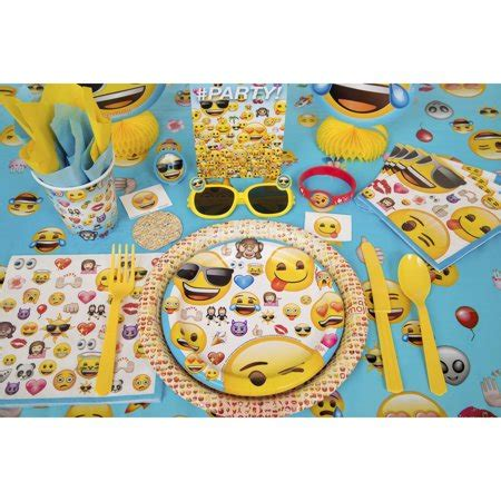 Emoji Themed Birthday Party Supplies