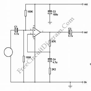 low noise microphone pre amp with op amp schematic diagrams With simple microphone preamplifier circuit can use between your microphone