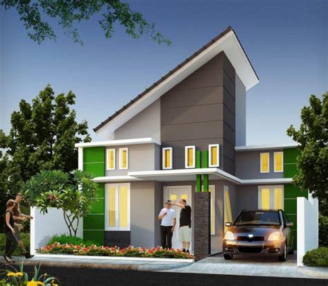 rumah minimalis modern atap miring rumah minimalis