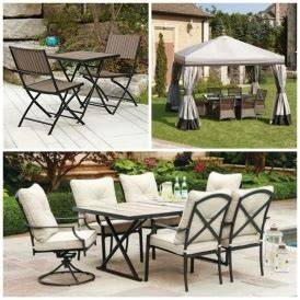 patio sets gazebos umbrellas clearance priced walmart