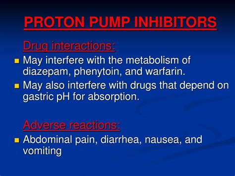 drugs acting  gastrointestinal tract powerpoint