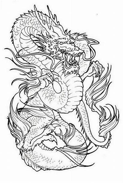 Dragon Japanese Tattoos Tattoo Stencil Designs Stencils