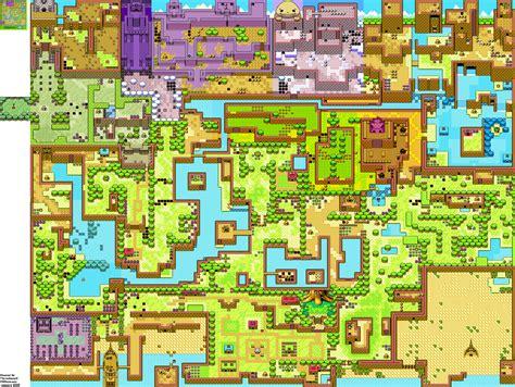 zelda capital oracle  seasons general maps