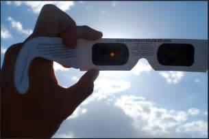Solar Eclipse Glass