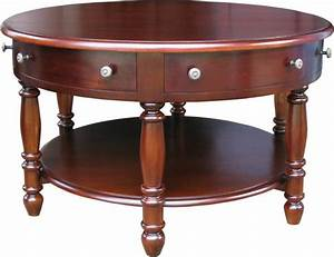 6 drawer round mahogany coffee table lock stock barrel With round wooden coffee table with drawers