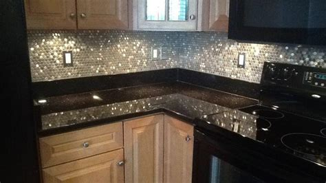 backsplash tile ideas stainless steel backsplash great home decor