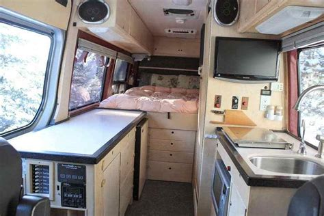 sprinter van conversion interiors camperism