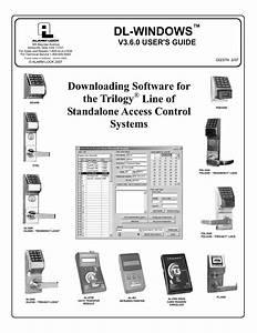 Alarm Lock Dl 3000 User S Guide