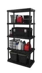 maxit knect  shelf       shelf plastic freestanding shelving unit  menards