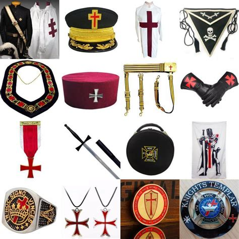 The knights templar feature prominently in dan brown's bestseller the da vinci code and the templars are known for the drama of their downfall or their role as medieval special forces. Knights Templar Regalia - Bricks Masons
