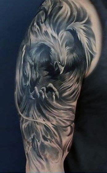 tatuajes de ave fenix disenos  sginficados genailes