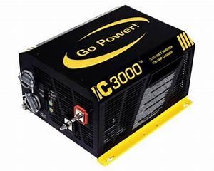 Go Power 3000w 12v Inverter Charger