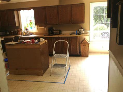 kitchen linoleum floors our diy kitchen makeover a brick home 2242