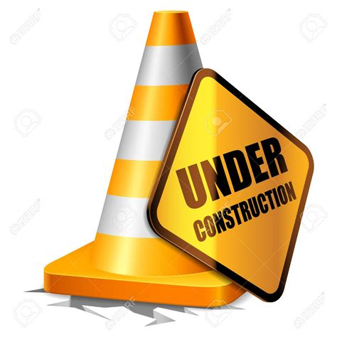 Construction Clip Cone Clipart Construction Sign Pencil And In Color Cone
