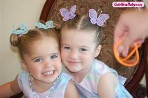 Beautiful cute twin baby sisters - CuteNewBaby.com