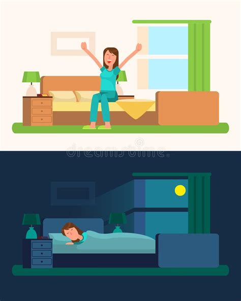 430 curtains cartoon stock video clips in 4k and hd for creative projects. Early To Bed Stock Illustrations - 87 Early To Bed Stock ...